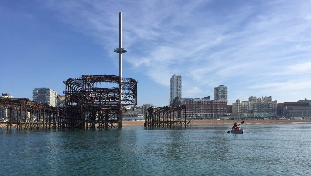 Kayak or Paddle Board - Paddle Boarding Brighton - Vegetarian Vegan Brighton
