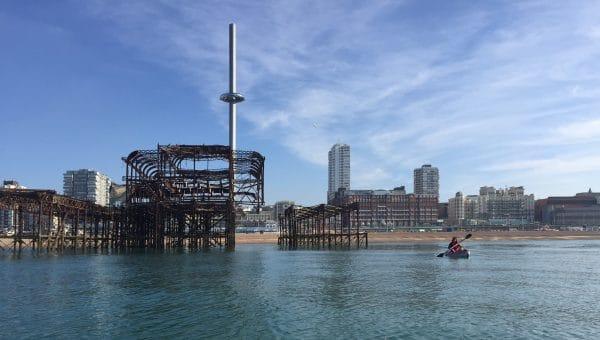 Kayak or Paddle Board - Paddle Boarding Brighton