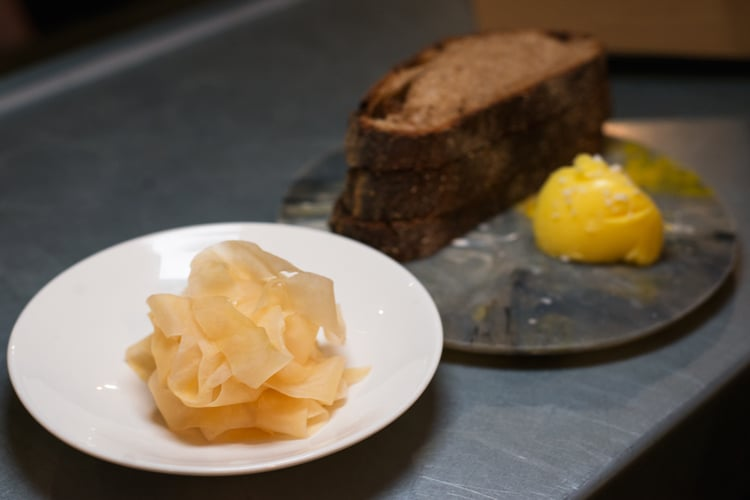 homemade bread at silo