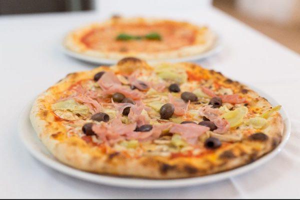 Pizza at West Pier Pizzeria