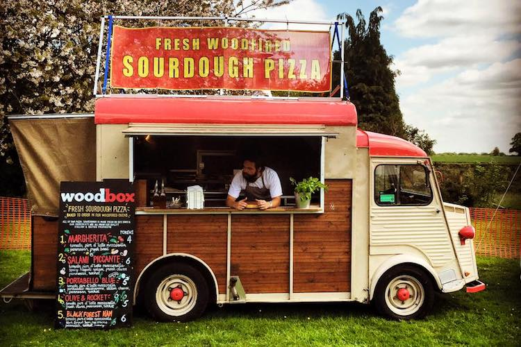 Woodbox Pizza Brighton Van