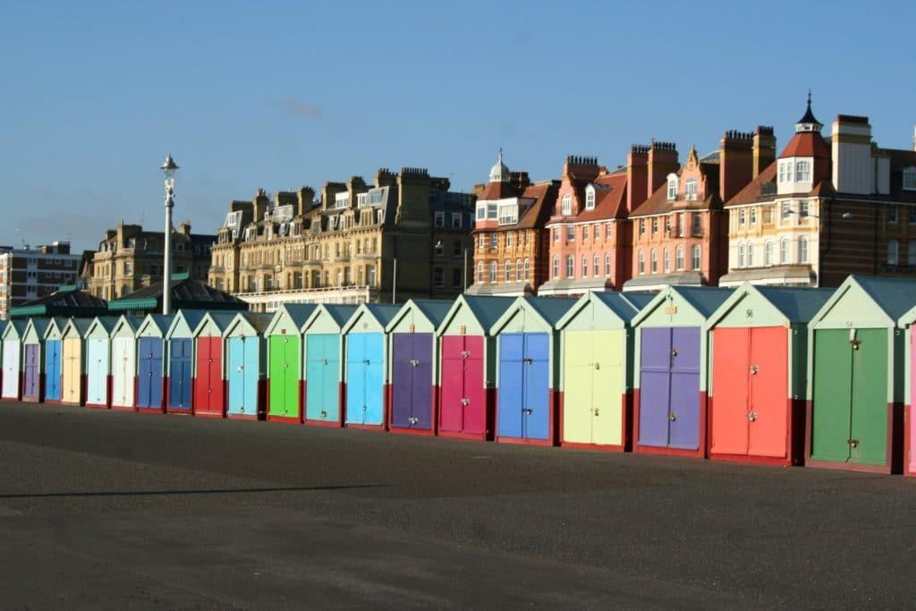 Brighton Beach Huts via BrightonSheds.com