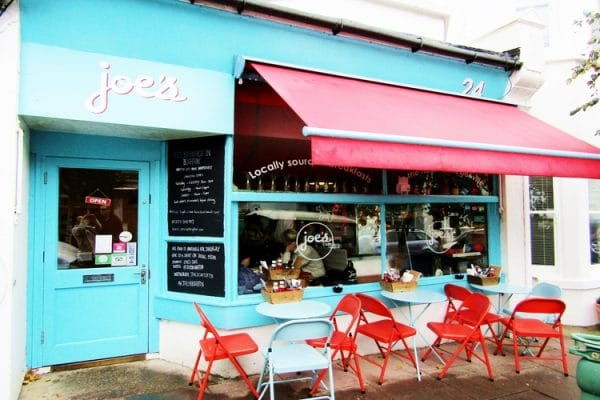 Joe's Cafe most dog friendly brighton restaurant awards BRAVO