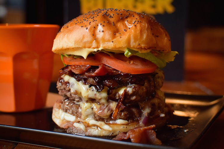 Burger Kult. East Street Tap Brighton