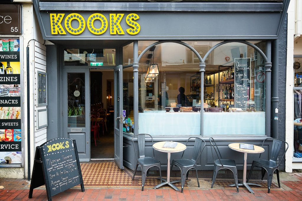 Exterior of Kooks Brighton