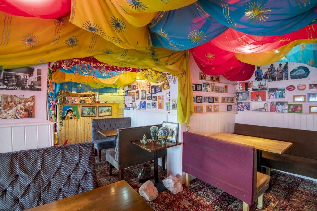 Interior of Planet India Brighton