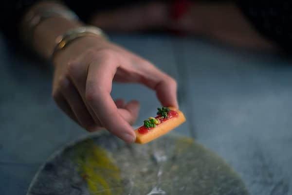 vegan review, carrot at Silo