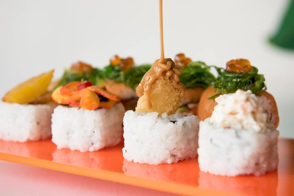 Sushi Platter at Tropical Sushi Brighton