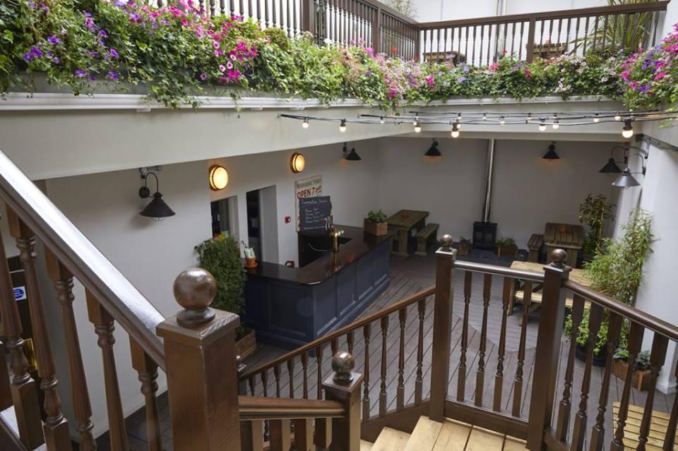 Terrace at Walrus Brighton