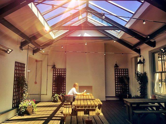 Sun terrace at The Walrus Brighton - Beer Gardens in Brighton
