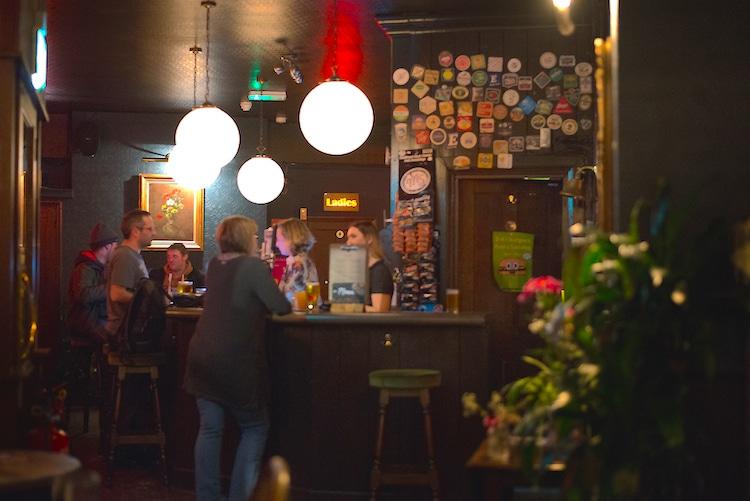 West Hill Tavern Review, BAr