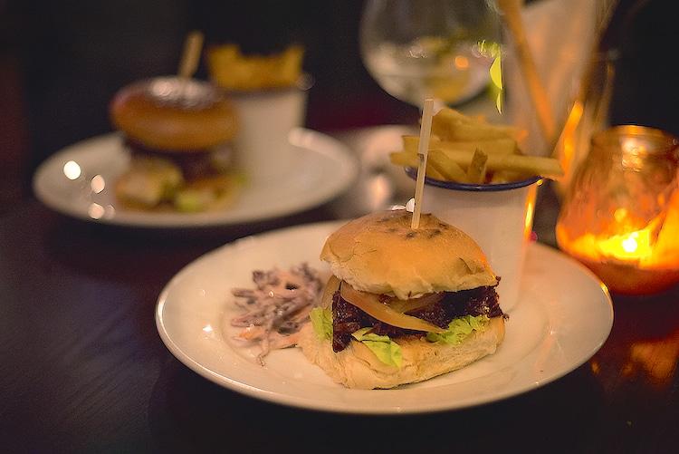 West Hill Tavern Burgers