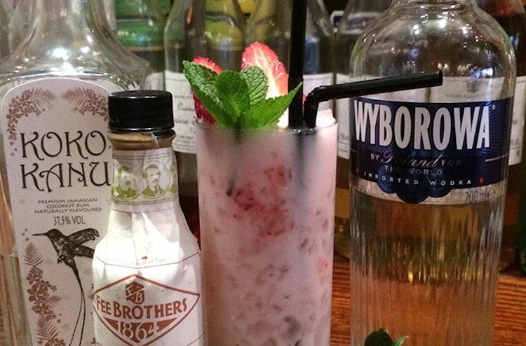 Koba Brighton cocktails and botanicals