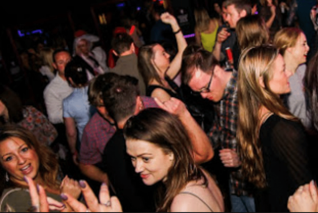 Club night at the Funky fish - Brighton clubs