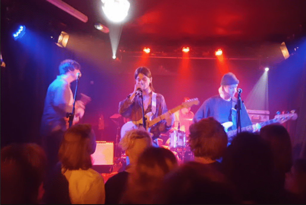 A gig at Green Door Store -Brighton clubs