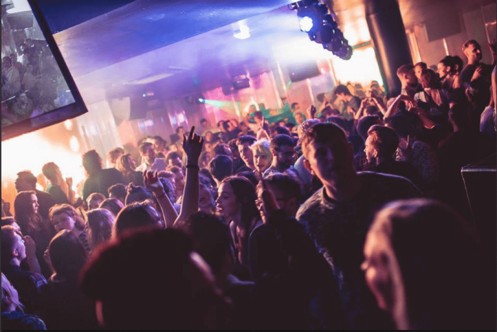 Club night at Revenge - Brighton clubs