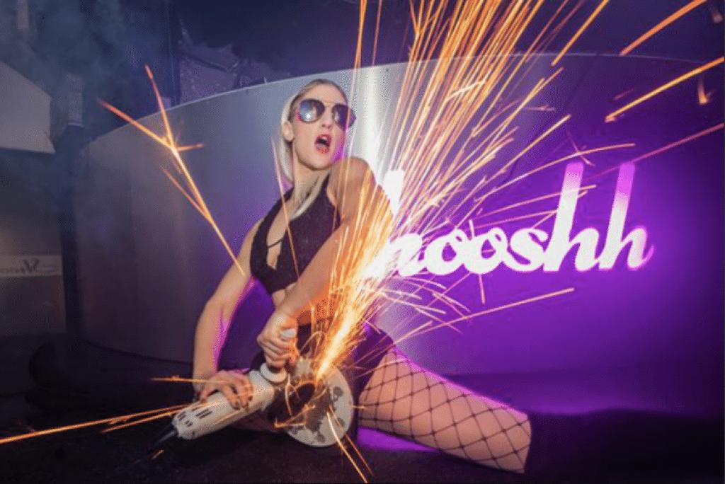 Entertainment act at Shooshh - Brighton clubs