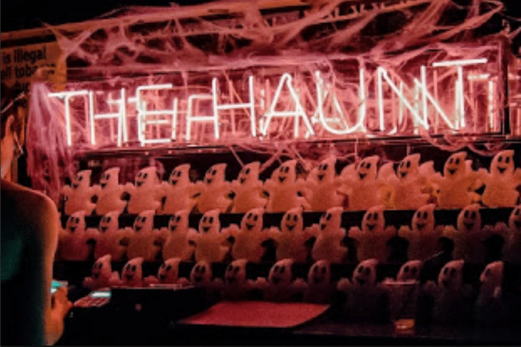 The bar at the Haunt - Brighton clubs