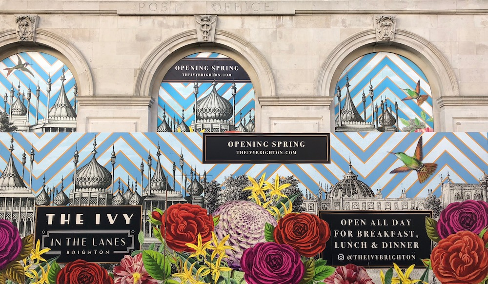 Launching soon - the Ivy restaurant in Brighton