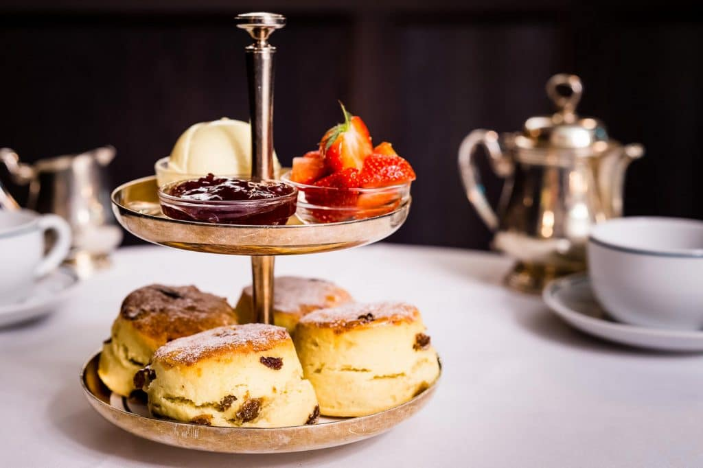Tea and Scones or afternoon tea at the Ivy in Brighton's Lanes