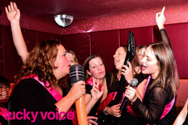 Hen party - lucky voice Brighton