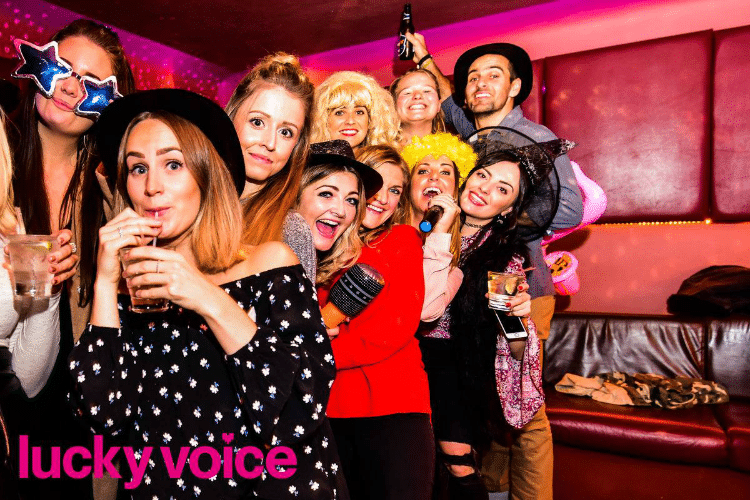 Office party - lucky voice Brighton