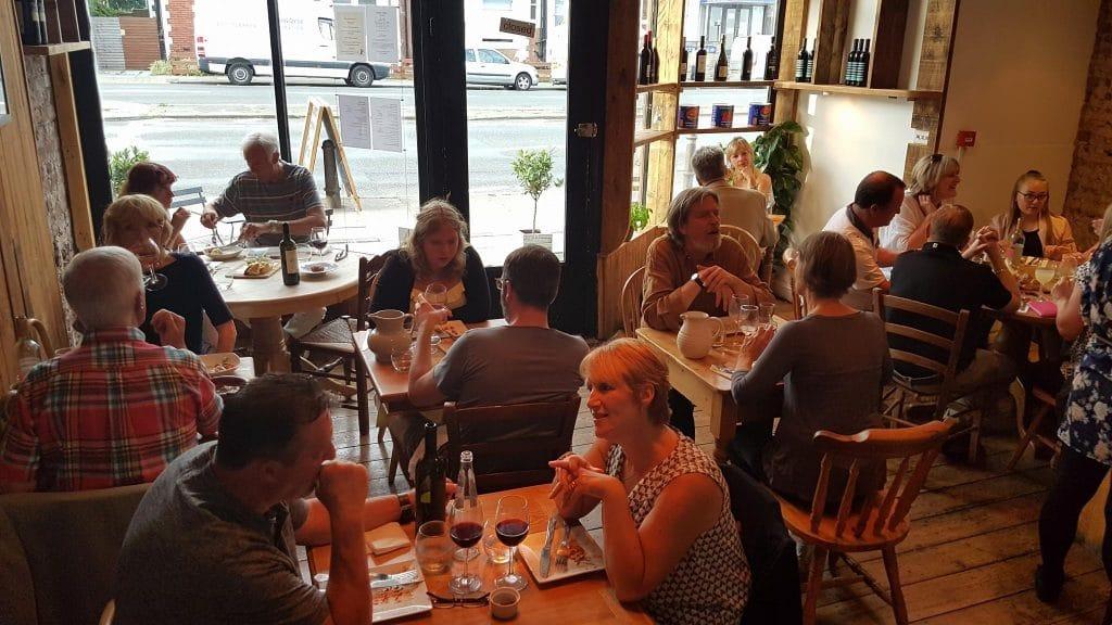 Full house at at Franco Restaurants Brighton