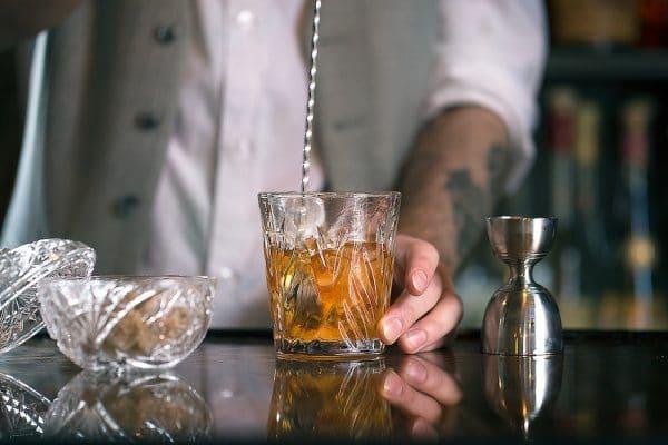 Cocktails at L'Ateiler du Vin in Brighton