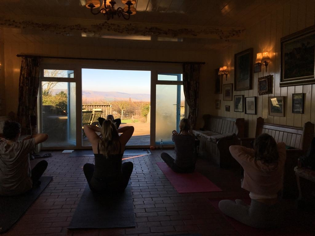 Yoga Brunch at The Sussex Ox