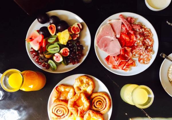 The Ram Inn breakfast menu