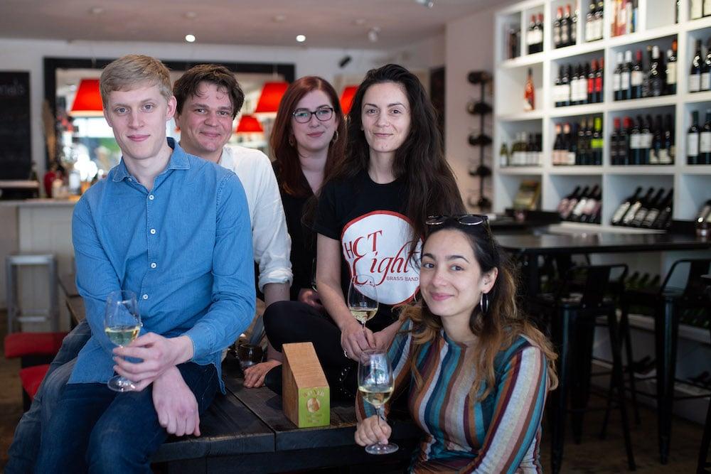 Brighton Restaurant Awards Winners - Best Wine List ten Green Bottles