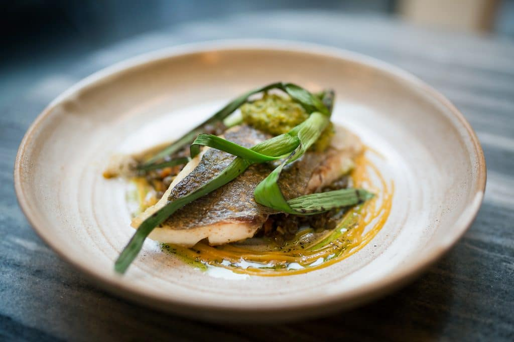 trout at the coal shed london