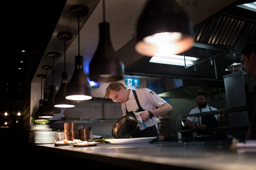chef at the coal shed london