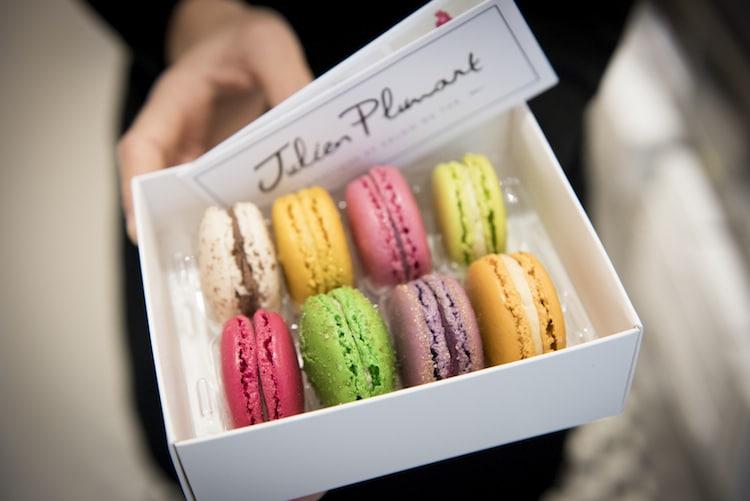 Julien Plumart Brighton macarons