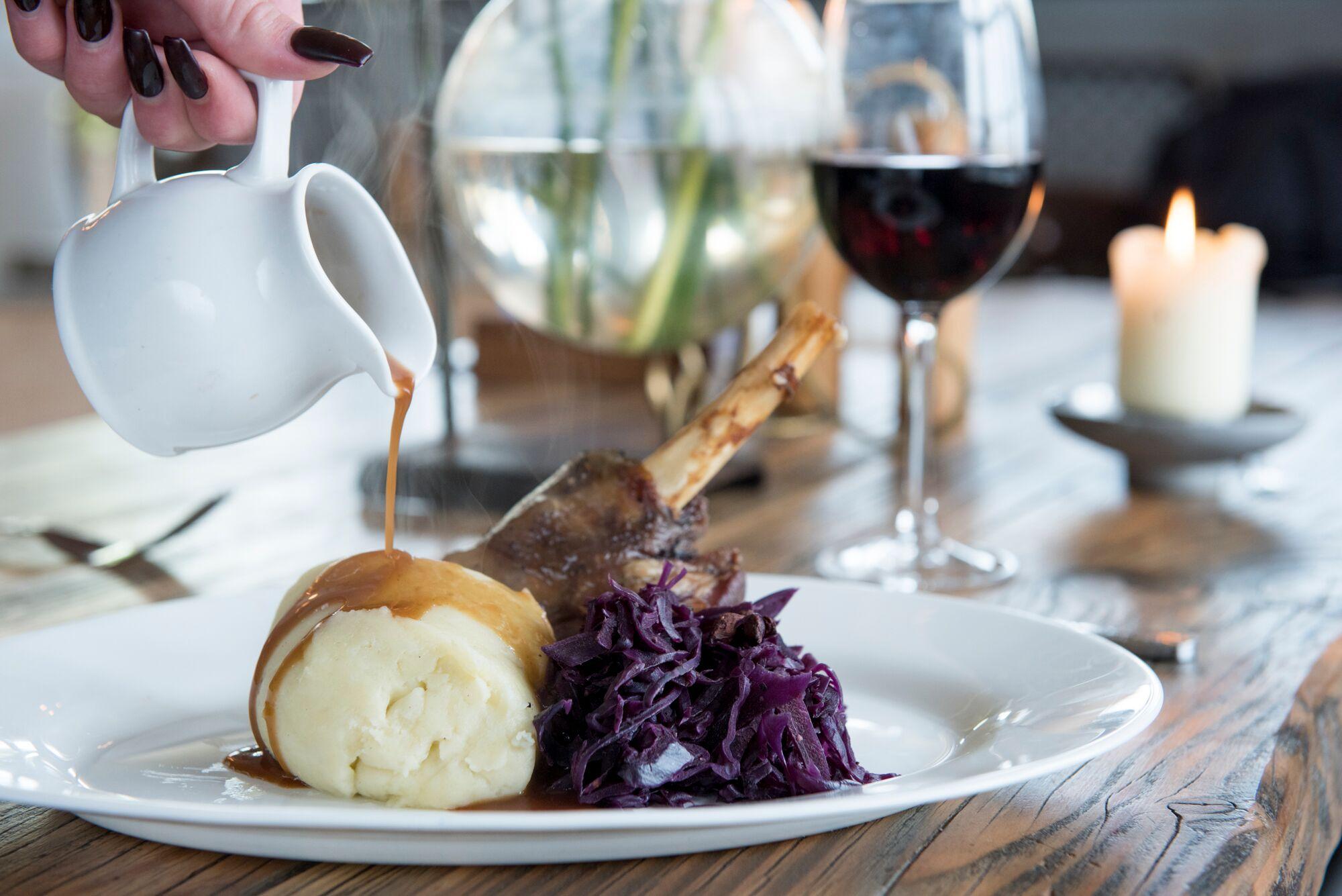 Meat dish at The Wheatsheaf Restaurants Brighton