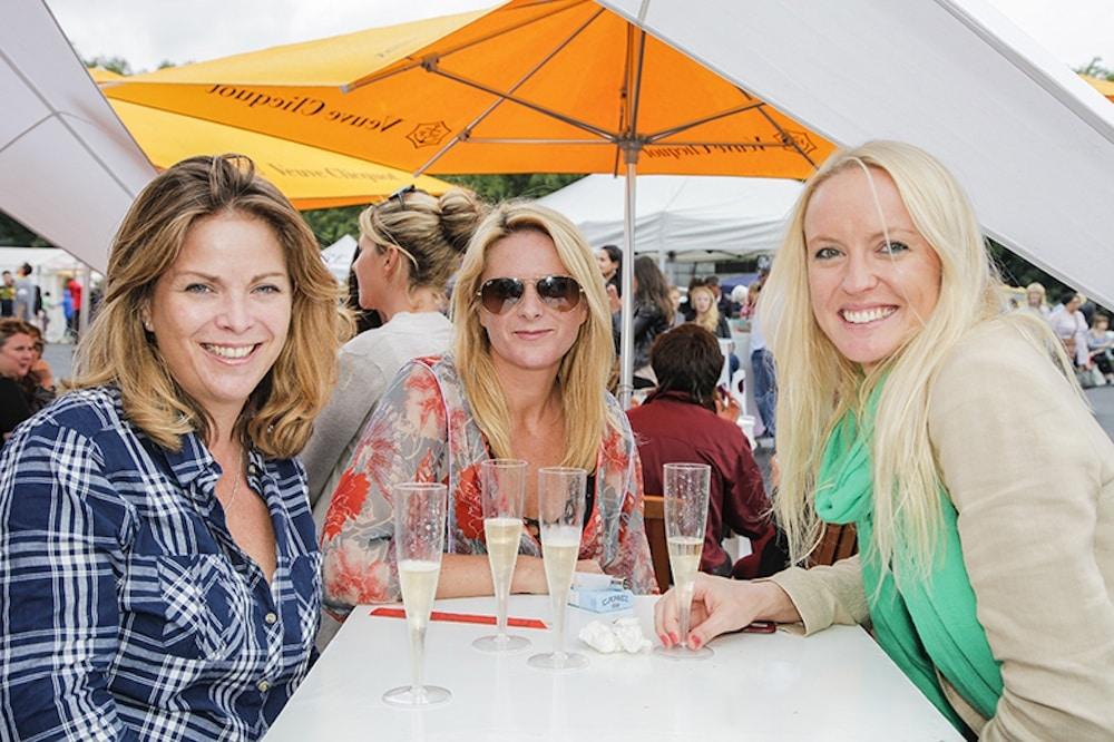 Ladies at Foodies Festival Brighton