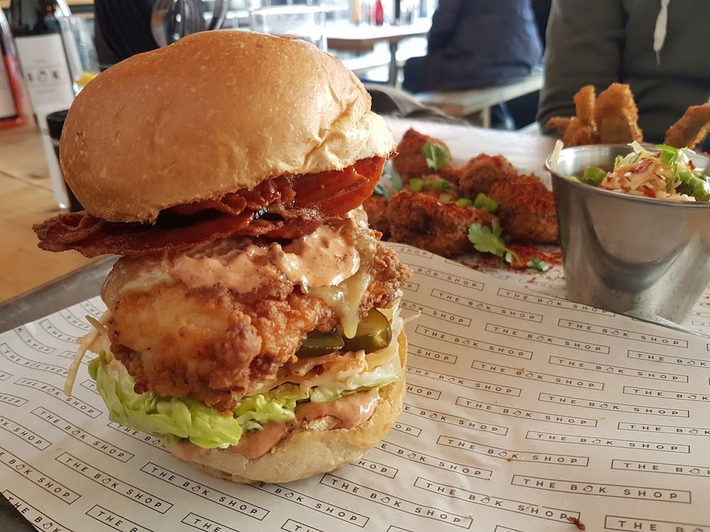 Bok Shop Brighton Burger