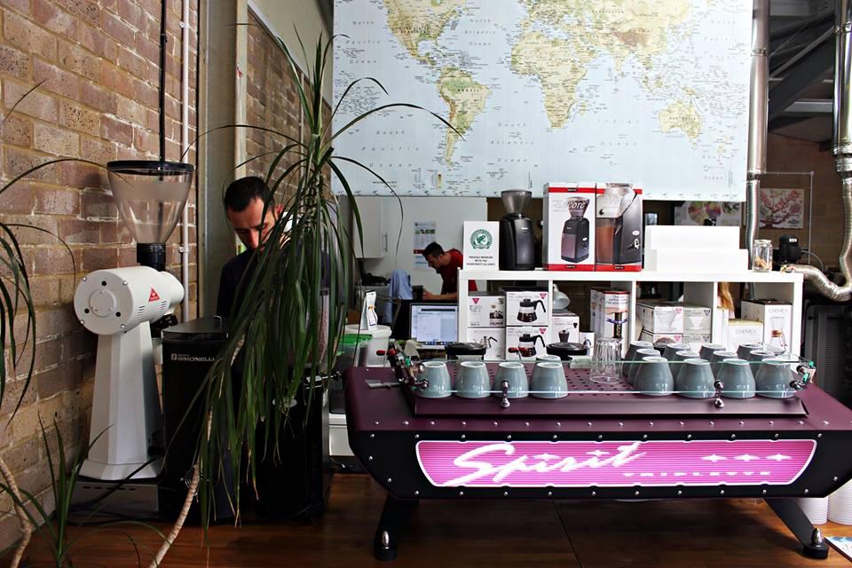 Coffee Bar at Brighton's Laughing Dog