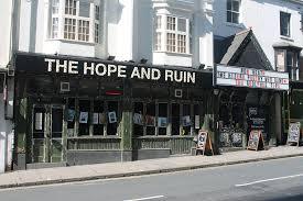 Hope & Ruin Best Pub Brighton Restaurant Awards BRAVO