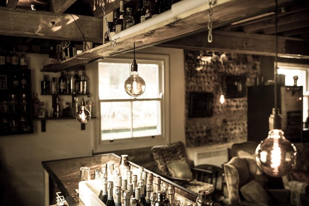 The Bar at L'Atelier Du Vin