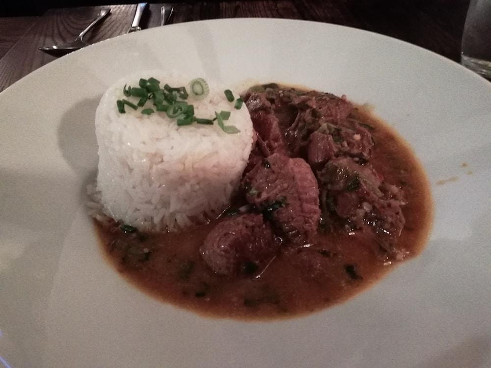 Lamb dish at The Wheatsheaf in Brighton
