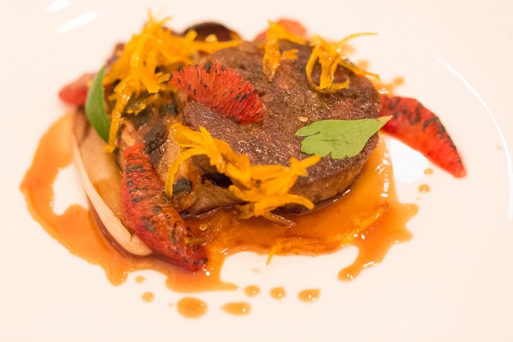 Duck starter at Murmur Restaurant Brighton