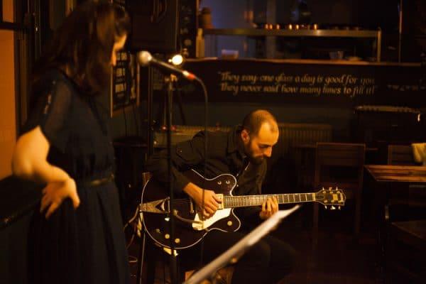 jazz band at harbar