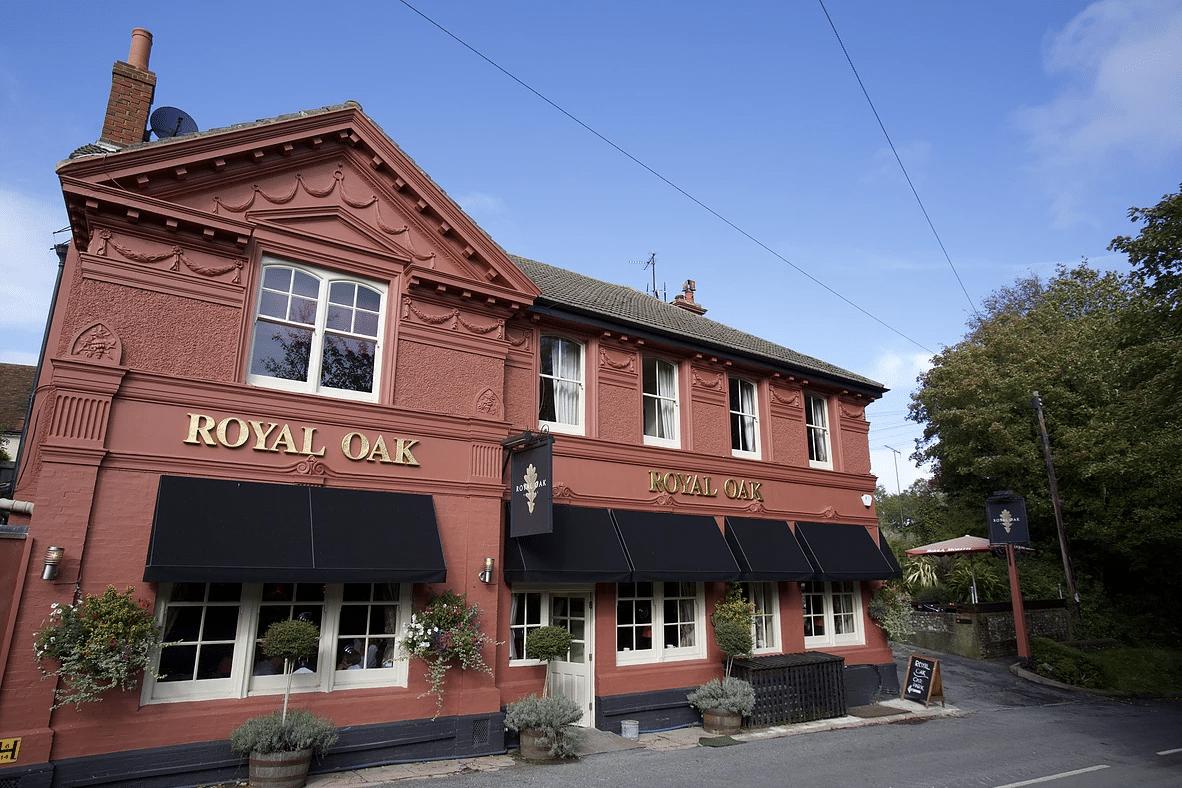 Royal Oak Poynings finalist Best Sussex Venue brighton restaurant awards BRAVO - Gastro Pubs Brighton