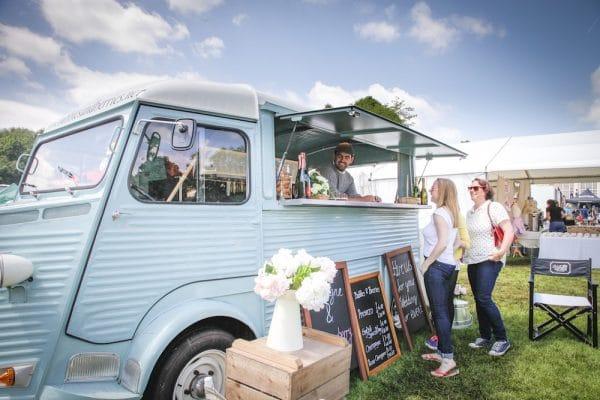 Van at Foodies Festival Hove Lawns