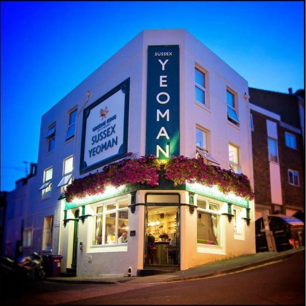 Sussex Yoeman Best Pub Grub Brighton Restaurant Awards BRAVO