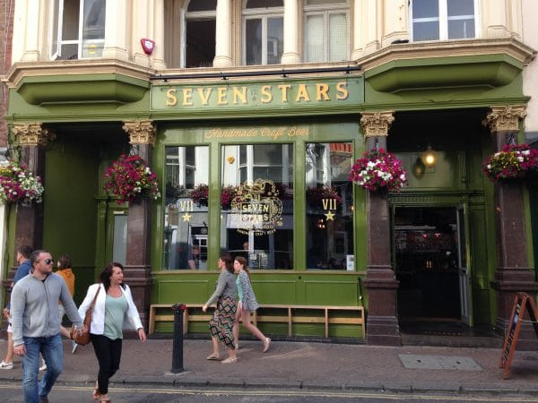 Seven Stars Best Pub Grub Brighton Restaurant Awards BRAVO