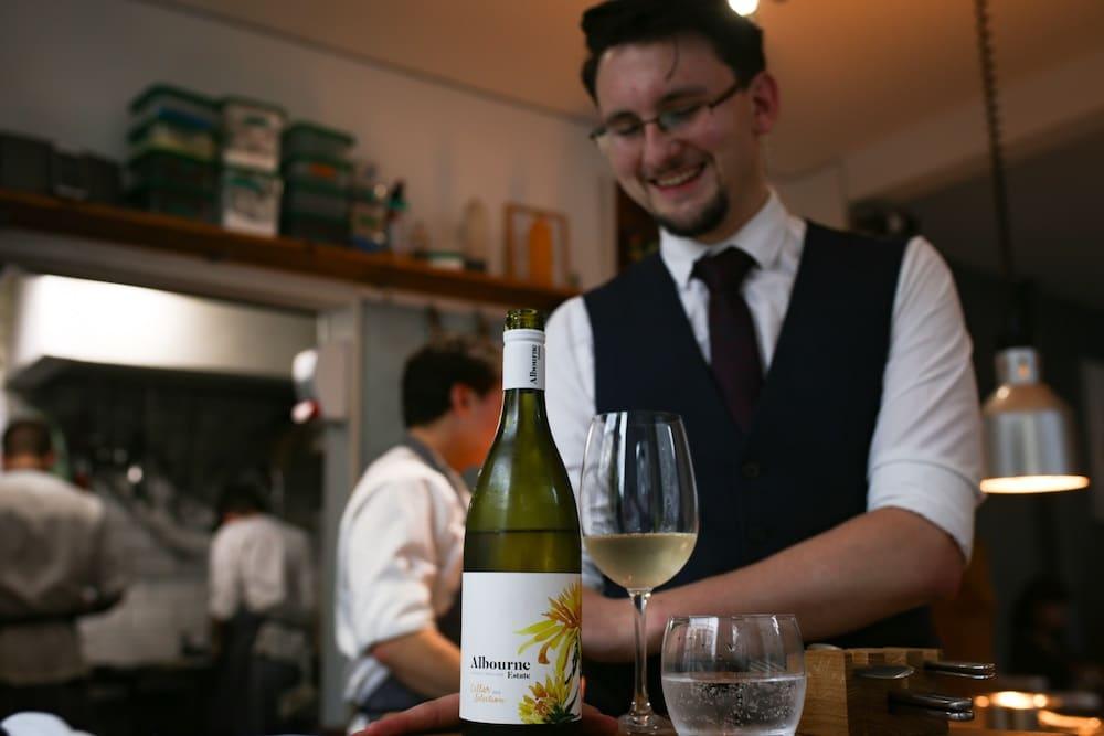 Wine at Isaac At Brighton