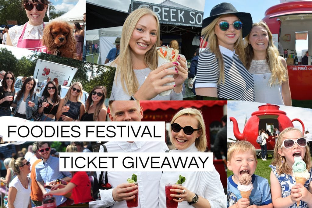 Brighton Foodies Festival Ticket giveaway