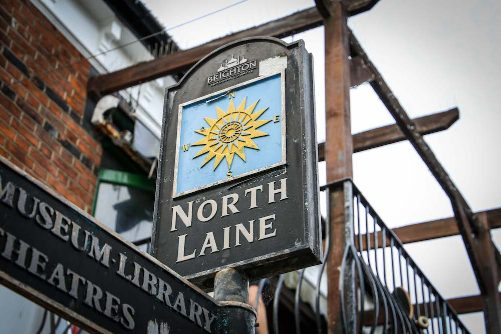 Brighton North Laine - what do do in Brighton
